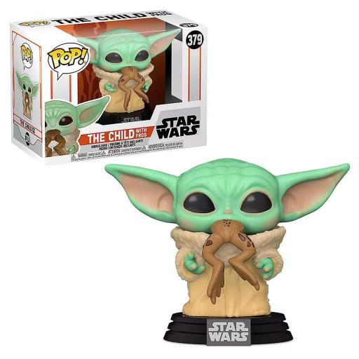 Funko POP Star Wars Mandalorian The Child with Frog [0]