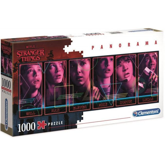 Puzzle Stranger things protagonistas