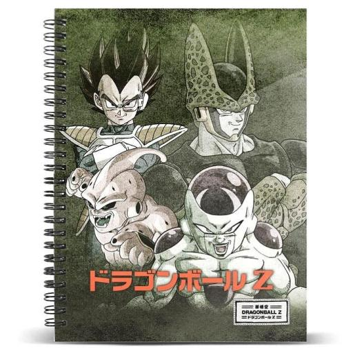Cuaderno A5 Evil Dragon Ball