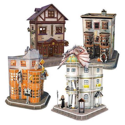 Puzzle 3D Set del Callejón Diagon Harry Potter [1]