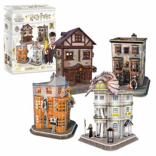 Puzzle 3D Set del Callejón Diagon Harry Potter