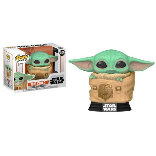 Funko pop 405 The child con manta de la serie The mandalorian
