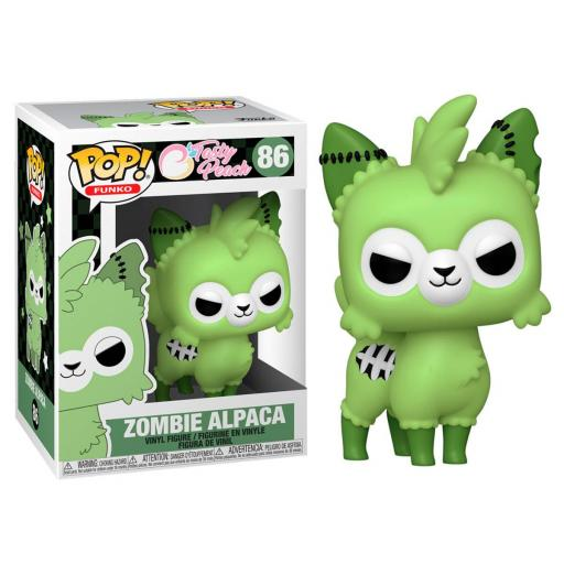 Funko pop 86 Zombie Alpaca de Tasty Peach