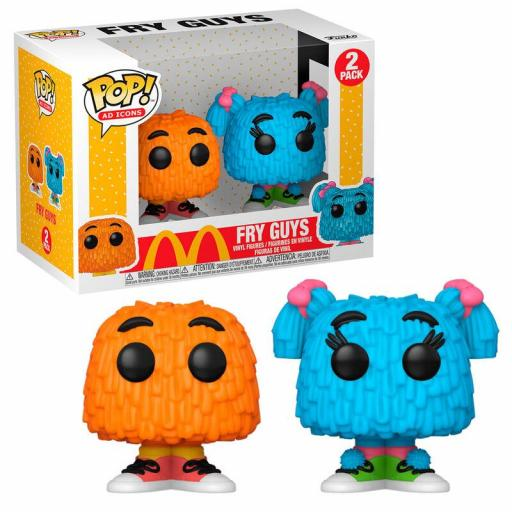 Funko pop McDonalds Fry Guy  pack de 2