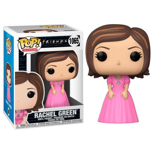 Funko pop 1065 de Rachel con vestido Rosa