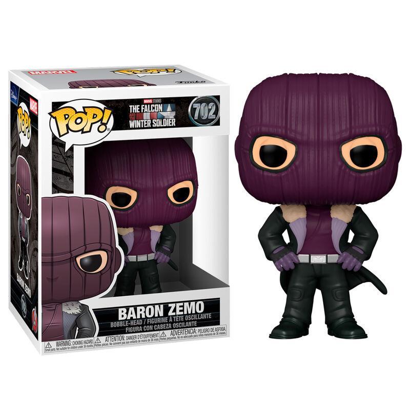 Funko pop 702 Baron Zemo de la serie Falcon y el soldado de invierno