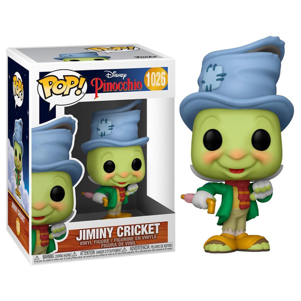 Funko pop 1026 Pepillo grillo de la película Pinocho