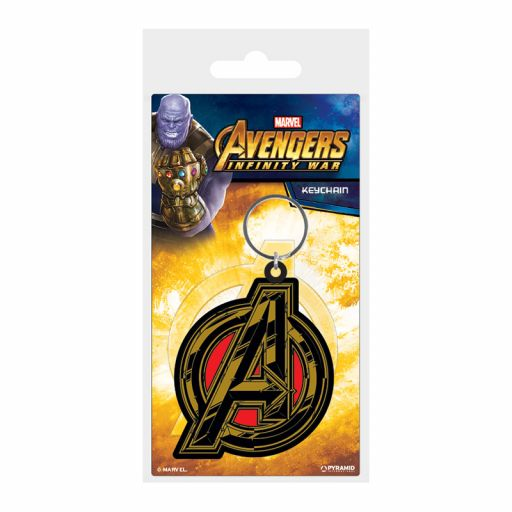 Llavero Avengers insignia