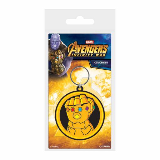 Llavero Marvel Avengers Puño de Thanos