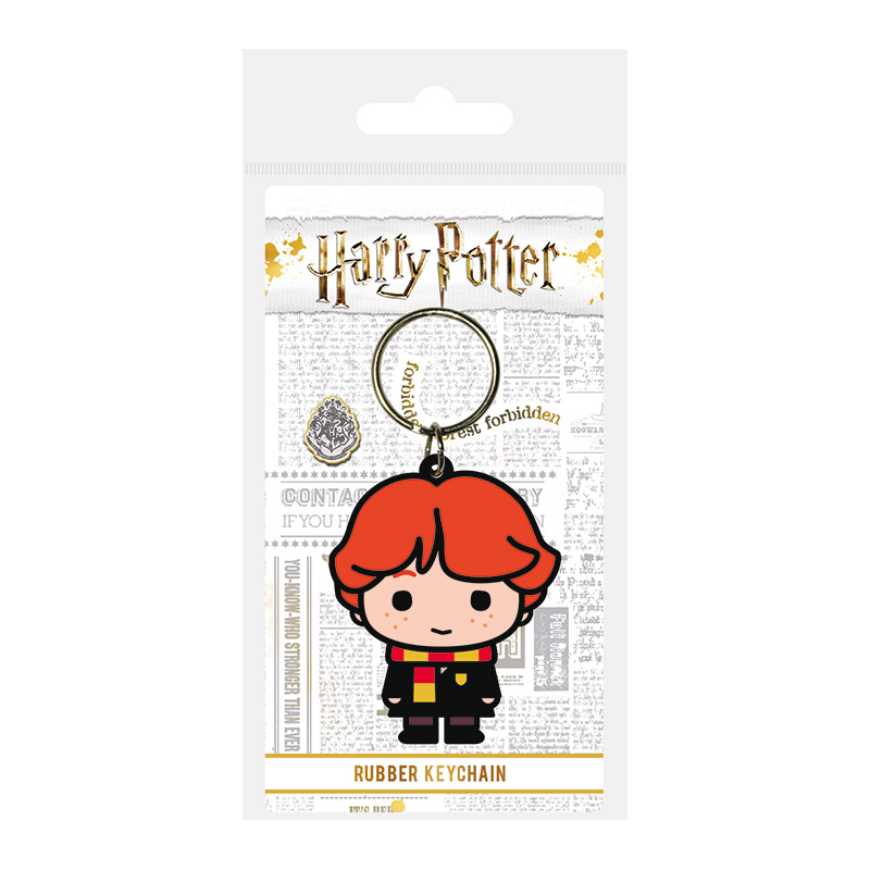 Llavero Harry Potter diseño Ron Weasley Chibi