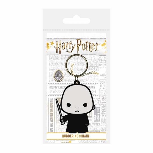 Llavero Harry Potter diseño Lord Voldemort Chibi