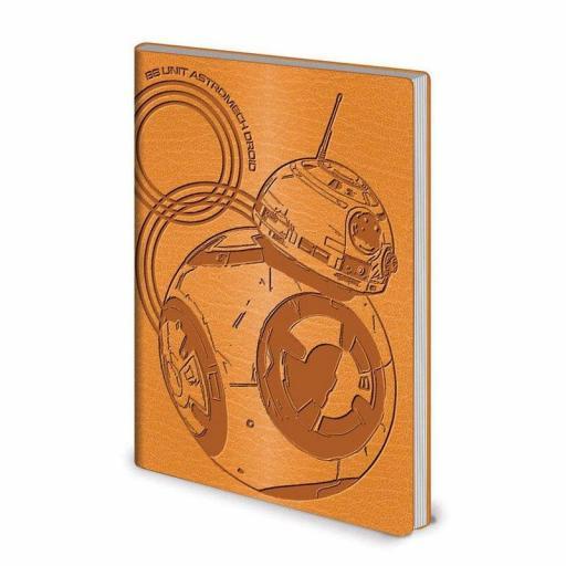 Libreta Star Wars Diseño BB-8 A5