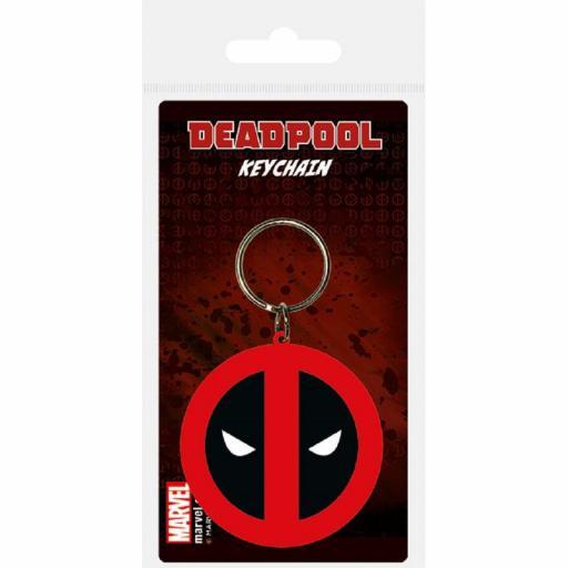 Llavero Marvel Logo Deadpool