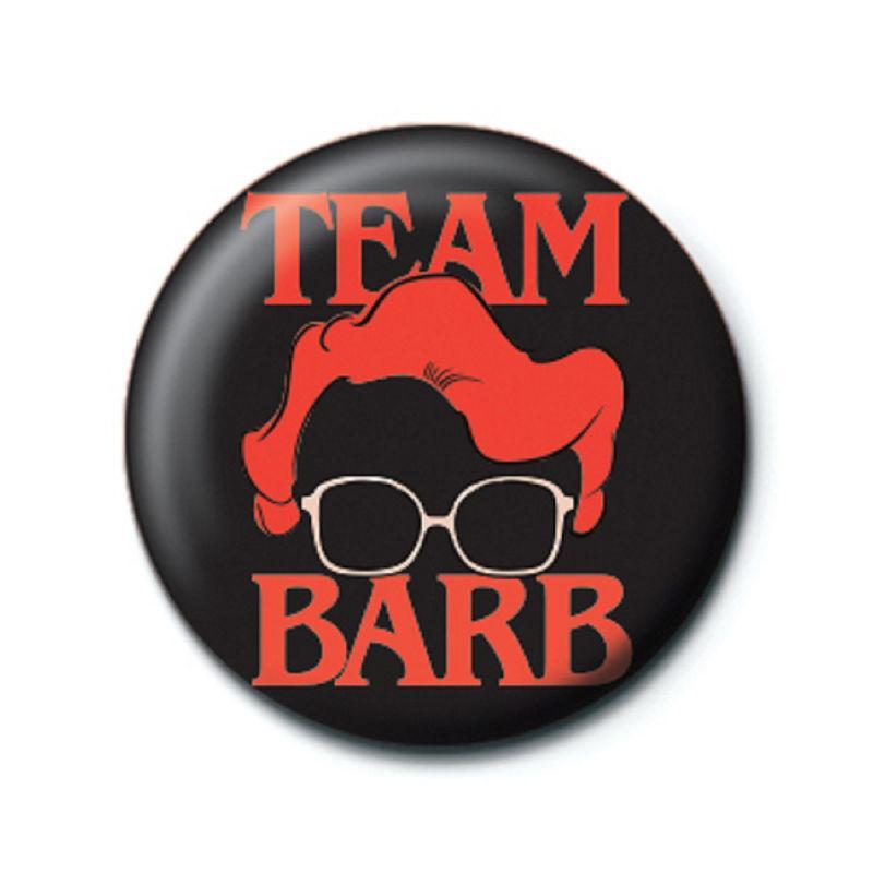 Chapa Stranger Things Team Barb