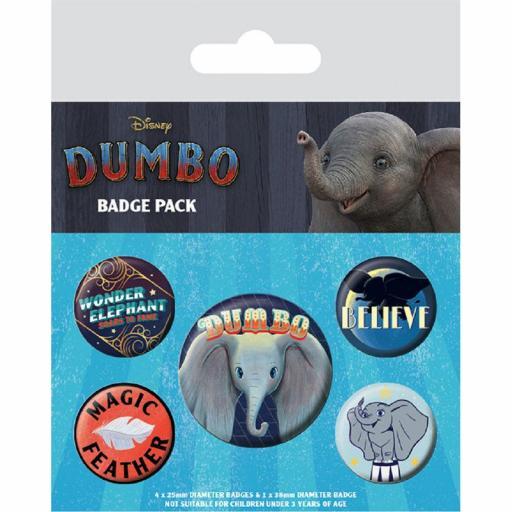 Set Chapas Disney Dumbo
