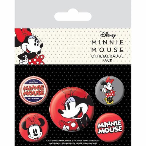 Set chapas Disney Minnie Mouse