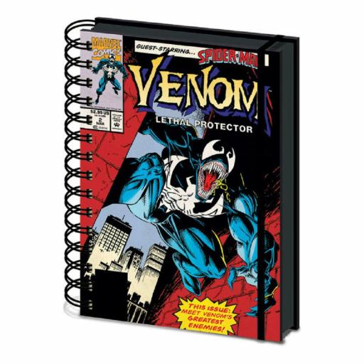 Cuaderno A5 Venom Lethal Protector