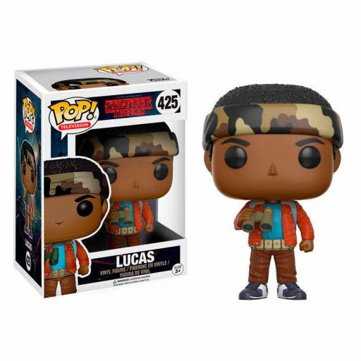 FUNKO POP Stranger Things Lucas with Binoculars