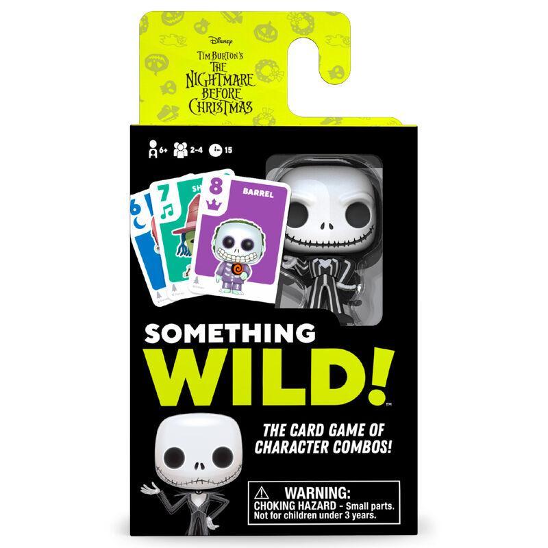 Juego cartas Something Wild! Pesadilla Antes de Navidad Disney
