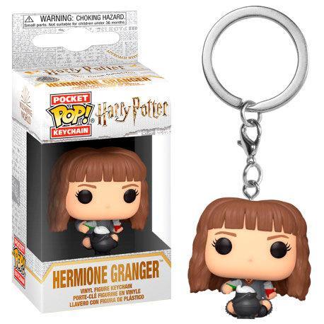 Llavero Pocket POP Harry Potter Hermione con caldero de pociones
