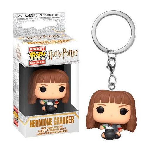 Llavero Pocket POP Harry Potter Hermione con caldero de pociones