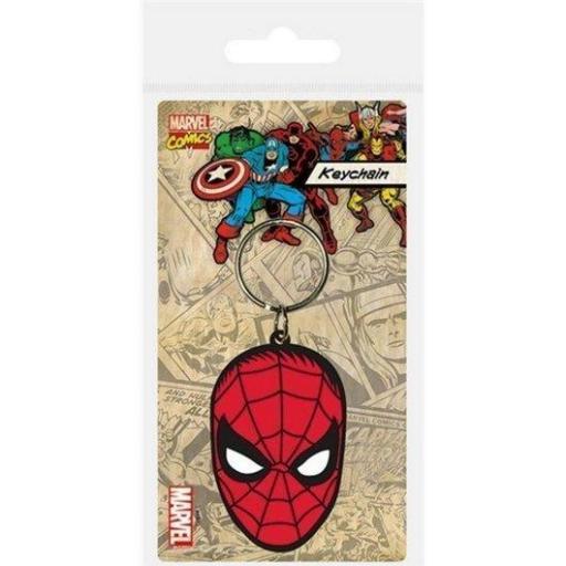Llavero Marvel cara Spiderman