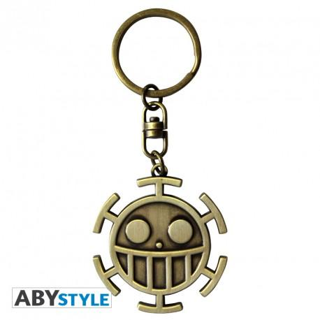 "Llavero de One piece de metal ""Trafalgar Law"""