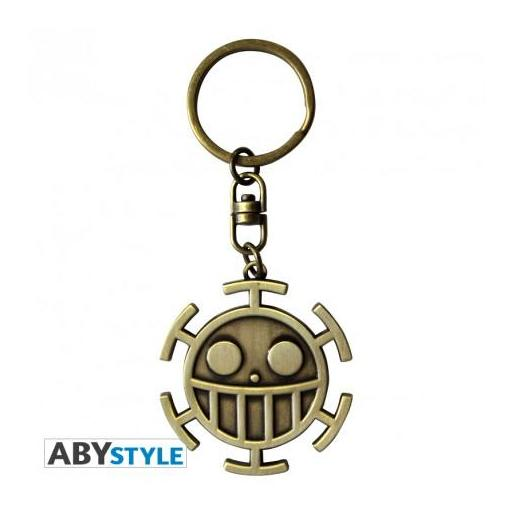 "Llavero de One piece de metal ""Trafalgar Law"" [0]"