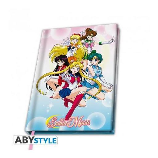 Libreta A5 en tapa dura de Sailor Moon