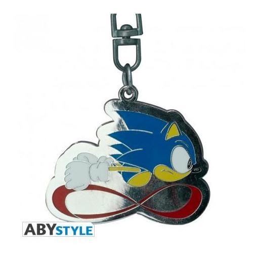 """Llavero de metal de Sonic """"Velocidad sónica"""" [2]"""