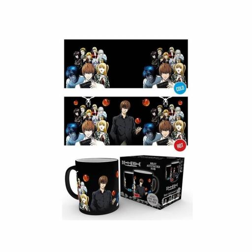 Taza de calor de Death Note