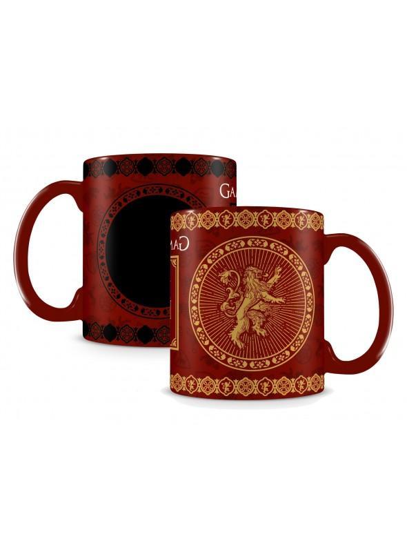 Taza Cambio de Color Juego de tronos Casa Lannister