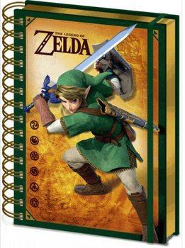 Libreta Lenticular Nintendo diseño Zelda