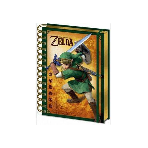 Libreta Lenticular Nintendo diseño Zelda [0]