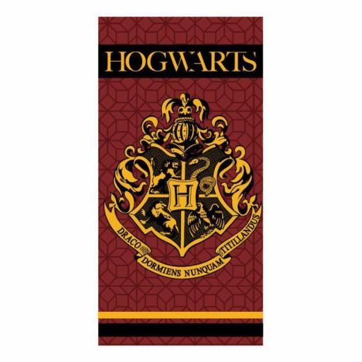 Toalla escudo Hogwarts Harry Potter microfibra co