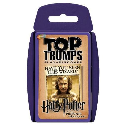 Juego cartas Harry Potter y el Prisionero de Azkaban Top Trumps [0]