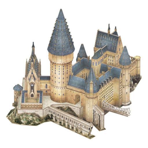 Puzzle 3D Gran Comedor de la pelicula Harry Potter [1]