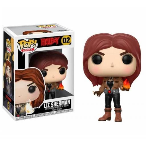FUNKO POP Hellboy POP! Movies Vinyl Figura Liz Sherman 9 cm