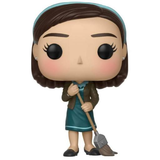 Funko pop Elisa with Broom 9 cm  La forma del agua