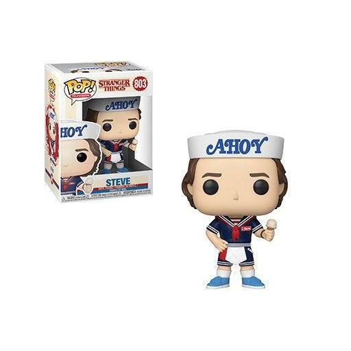 Funko pop Stranger Things Steve with Hat and Ice Cream 9 cm