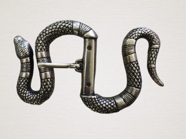 Cinturón Cuero Serpiente  [1]