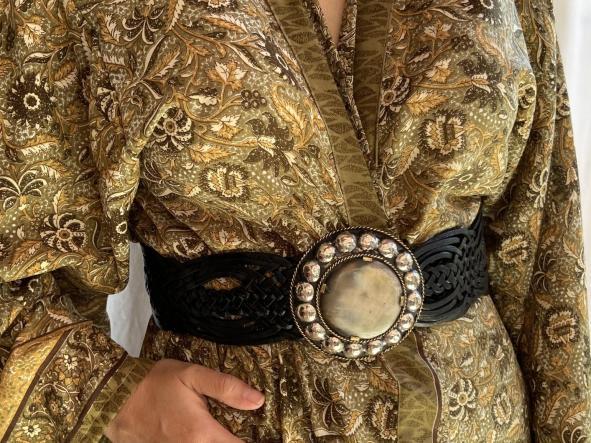 Cinturones Hebilla redonda grande  [1]