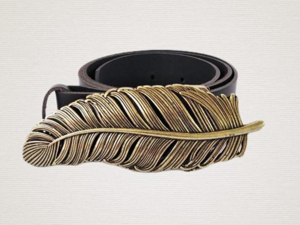 Cinturón  Cuero Pluma [1]
