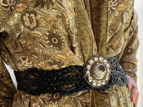 Cinturones Hebilla redonda grande  [2]