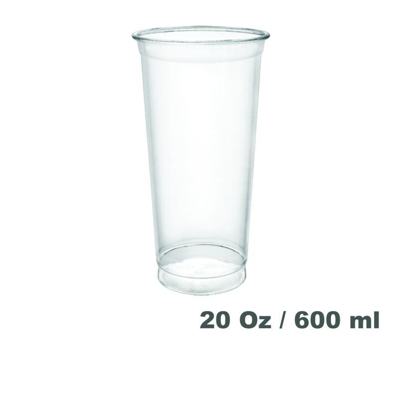 Vasos de plástico PET 20oz 800 unidades