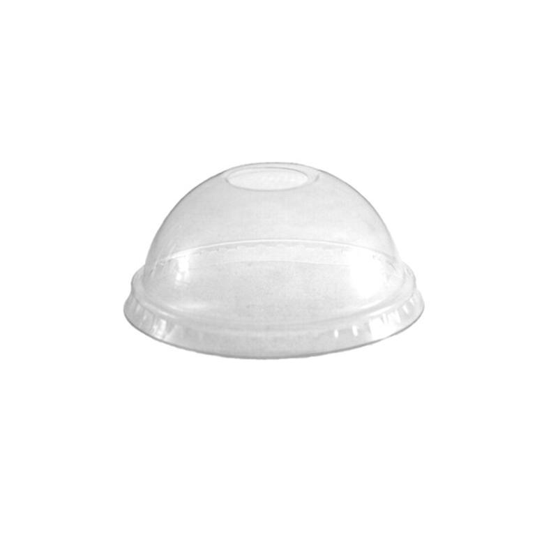 Tapa cúpula pet ø78mm 1250 uni. con agujero
