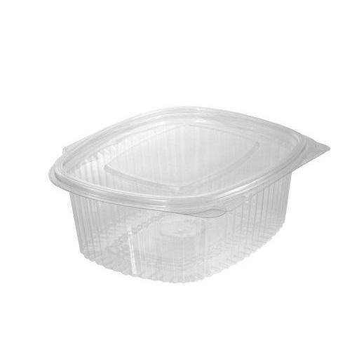 Envase bisagra oval 250ml 600 unidades