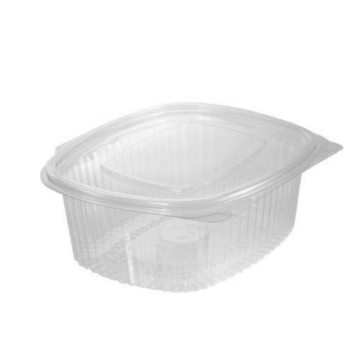 Envase bisagra oval 375ml 750 unidades