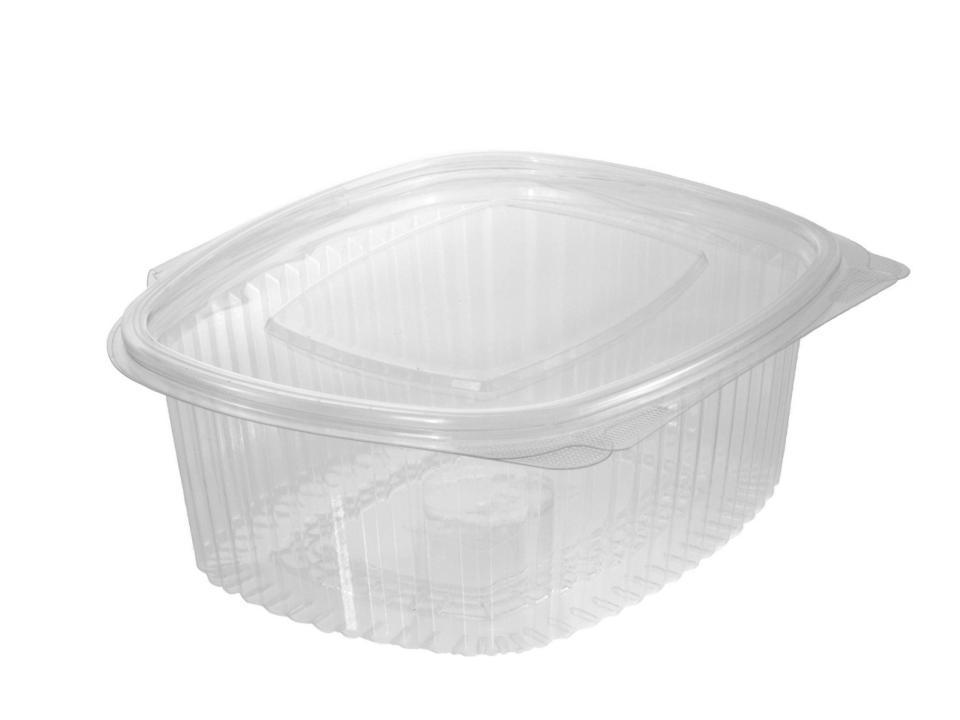 Envase bisagra oval 500ml 450 unidades