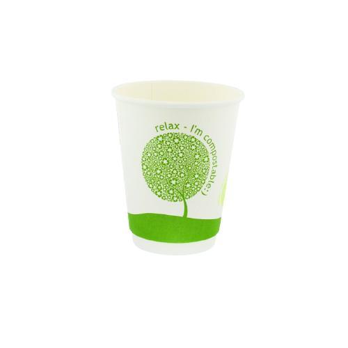 Vasos compostables 7oz 1000 unidades
